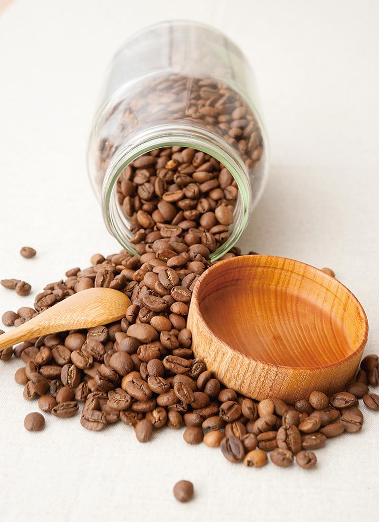 Potコーヒー豆イメージ