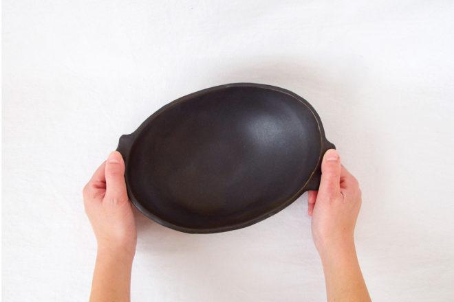 耐熱グラタン皿[楕円](中)