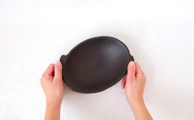 耐熱グラタン皿[楕円](小)
