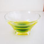 グラデーションカップグリーン正面