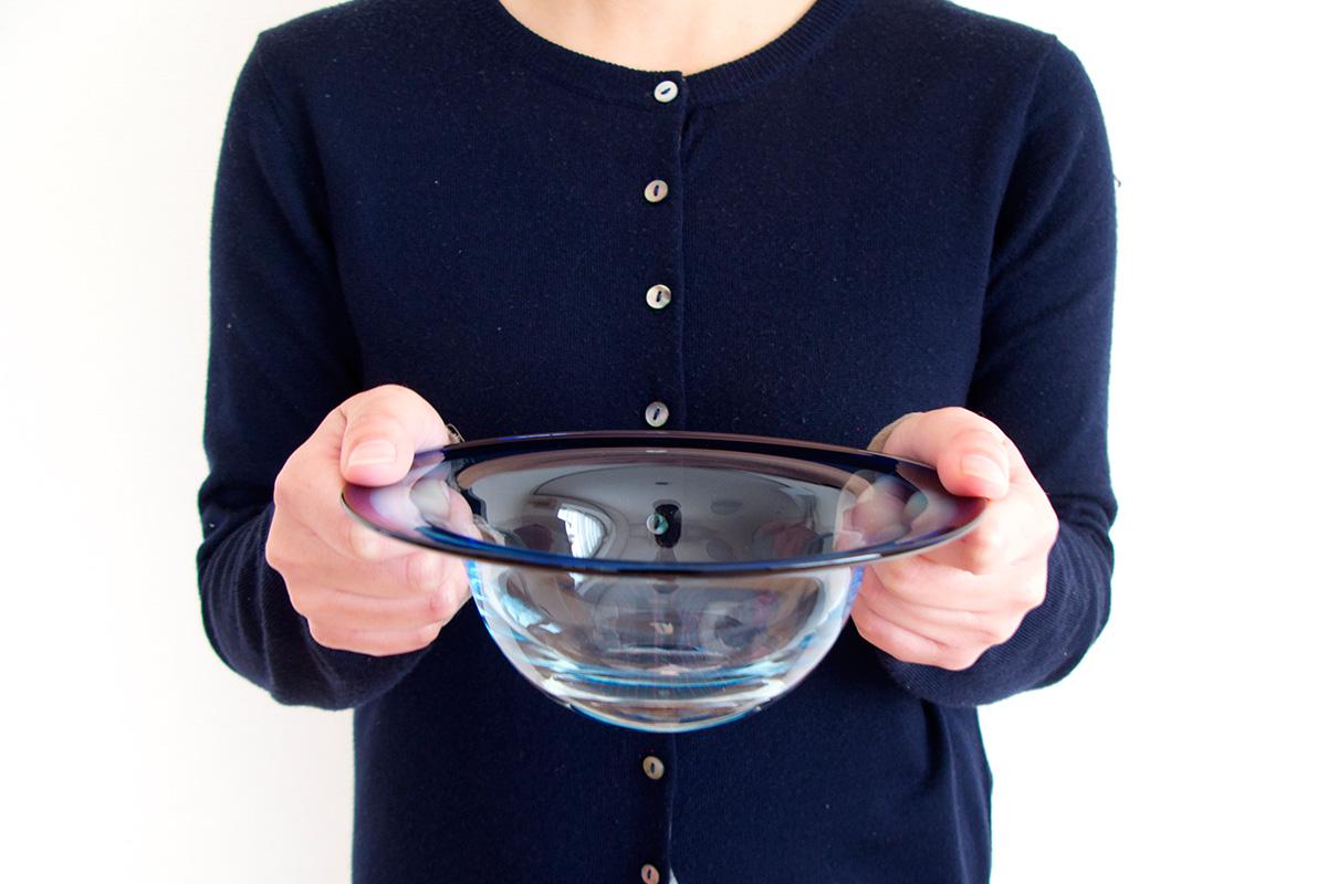 厚木グラススタジオスープ皿