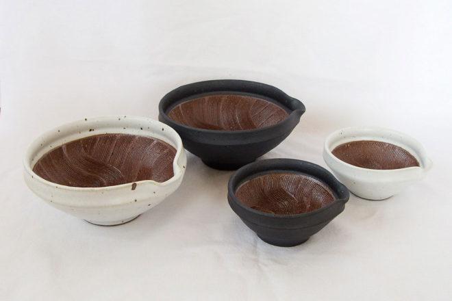 すり鉢2種
