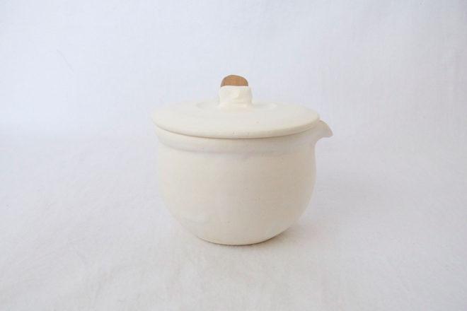 耐熱ミルクパン[白]06