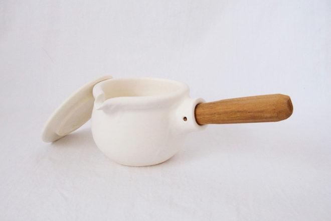 耐熱ミルクパン[白]07