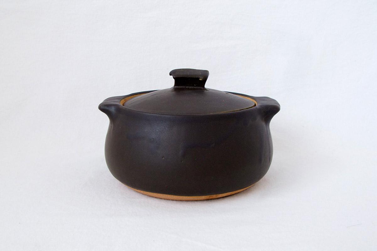 馬場勝文陶工房土鍋(小)一人用