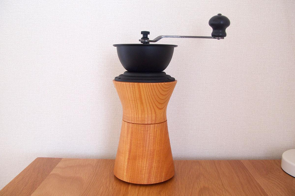 MokuNeji(モクネジ)木製コーヒーミル